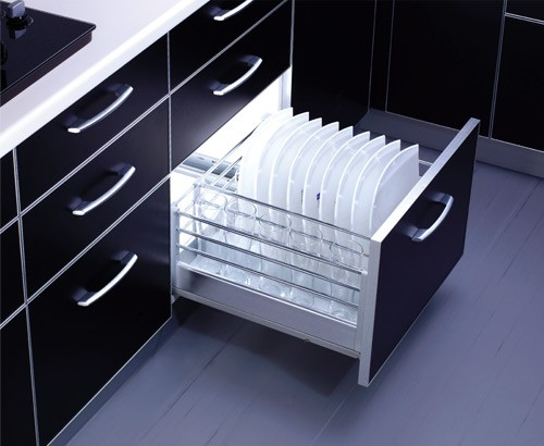 Optimise Kitchen Storage With The Right Channel And Basket Style