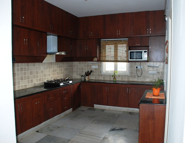 Fork tales from arti 39 s immaculate modular kitchen for M kitchen hyderabad