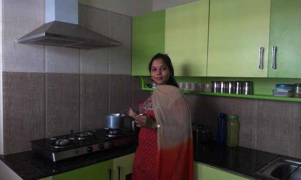 Kitchen Star U2013 Niranjana Ramanu0027s U Shaped Kitchen