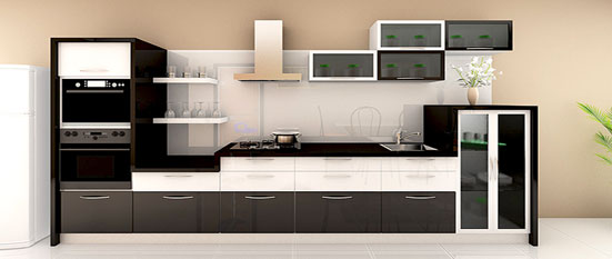 Indian modular parallel kitchen designs images for Parallel platform kitchen designs