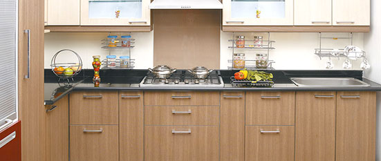 L shaped kitchen quotes Indian kitchen design download
