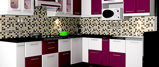 L Shaped Kitchen Quotes