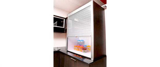Rolling Shutter Kitchen Cabinet India Cabinets
